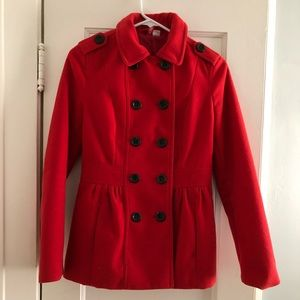 H&M Double Breasted Pea Coat
